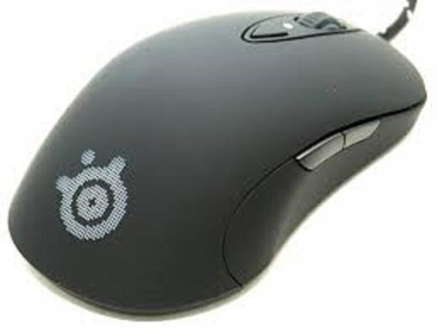 Foto: Jual Mouse Steelseries Sensei Raw Rubber Black