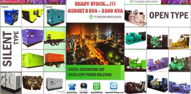 Foto: Genset High Voltage & Control Panel System