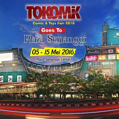 Foto: Tokomik Comic & Toys Fair Goes To The Plaza Semanggi