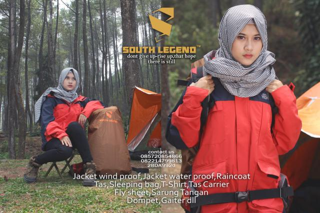 Foto: Produsen Jaket Outdoor South Legend