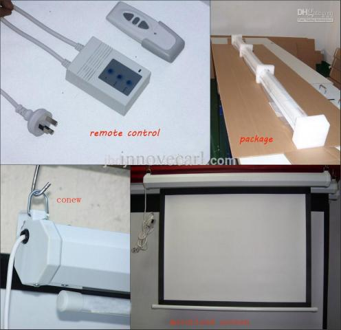 Foto: Screen Projector Motorized