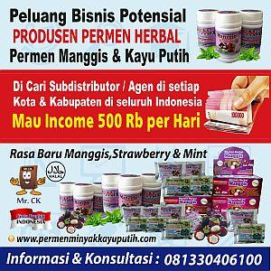 Foto: Permen Herbal Manggis Dan Strawberry