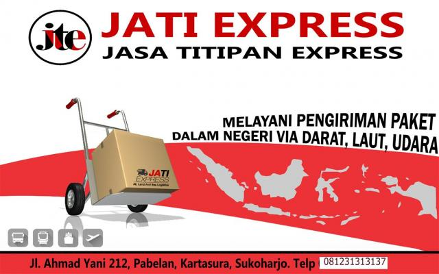 Foto: Jati Express Solo Paket Domestik & International