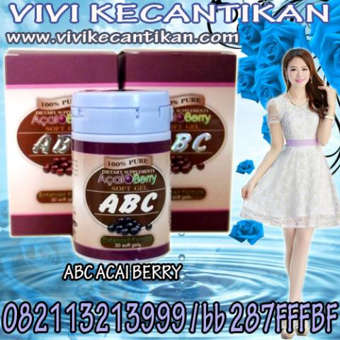 Foto: Abc Acai Berry Suplemen Pelangsing Herbal