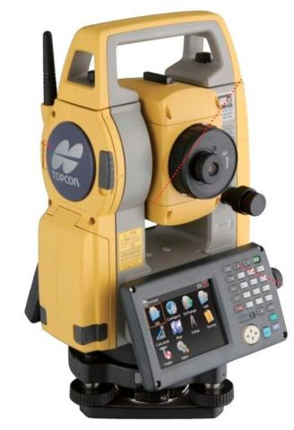 Foto: Alat Survey Onboard Station Series Total Station Topcon Os 105 Akurasi 5sec