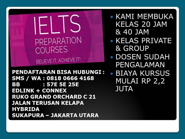 Foto: Kursus Ielts Preparation Di Grand Orchard