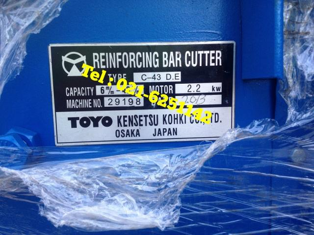 Foto: Jual Bar Cutter & Bar Bender Toyo / Takeda