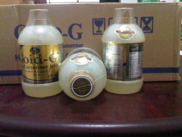 Foto: Jelly Gamat, Gold G, Jelly Gamat Gold G, Jeligamat, Gamat Gold G