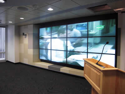 Foto: Led Video Wall Seamless Toyani Built-in Matrix