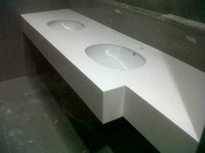 Foto: Solid Surface Untuk Kitchen Set, Washtafel, Meja Kafe, Dll