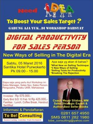 Foto: Digital Productivity For Sales Person Seminar