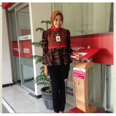 Foto: Model Batik Office Wear 2016
